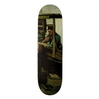 Weaver by Vincent Van Gogh Skateboard