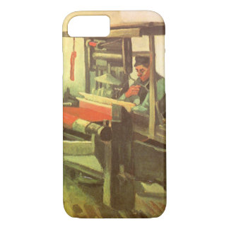 Weaver Facing Left Spinning Wheel Vincent van Gogh iPhone 8/7 Case