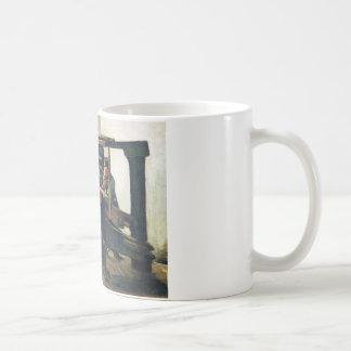 Weaver Facing Left - Vincent Van Gogh Coffee Mugs