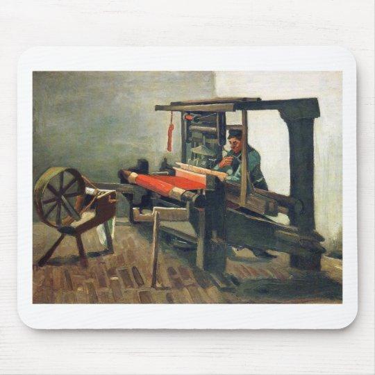 Weaver Facing Left - Vincent Van Gogh Mouse Pad