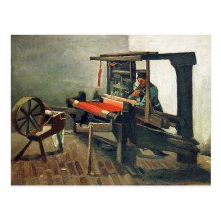 Weaver Facing Left - Vincent Van Gogh Postcard