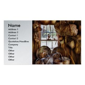 Weaver - I like weaving Business Card Template