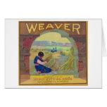 Weaver Orange LabelPiru, CA Greeting Card