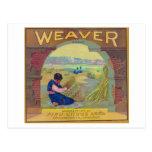 Weaver Orange LabelPiru, CA Postcard