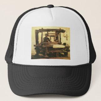 Weaver,Seen from the front 1884, Vincent van Gogh. Trucker Hat