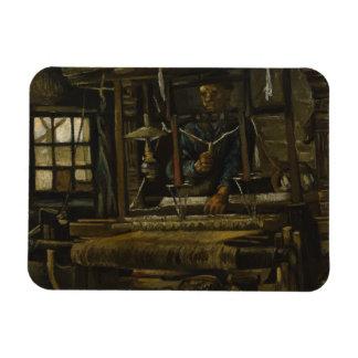 Weaver's Cottage by Vincent Van Gogh Flexible Magnets