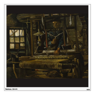 Weaver's Cottage by Vincent Van Gogh Wall Sticker
