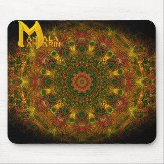 Weaver's Mandala with Mandala Mandarin logo Mouse Pad