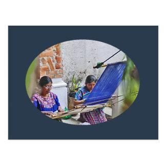 Weavers of Antigua Postcard
