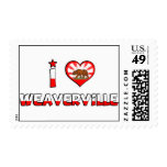 Weaverville, CA Stamps
