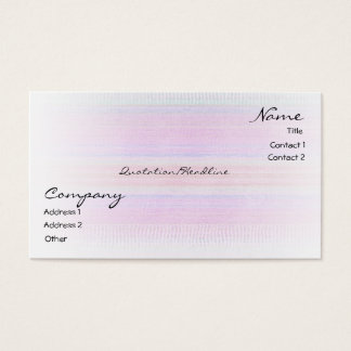 Weaving Gifts Business Card