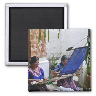 Weaving in Antigua drybrush Magnet