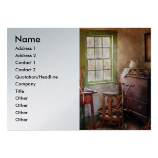Weaving - In the weavers cottage Business Card Template