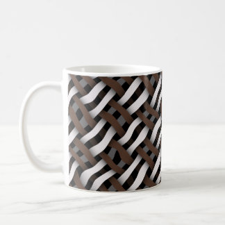 weaving or woven seamless texture coffee mug