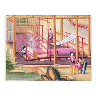 Weaving Postcard