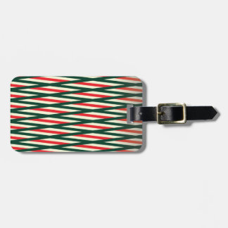 Weaving style cool design luggage tag