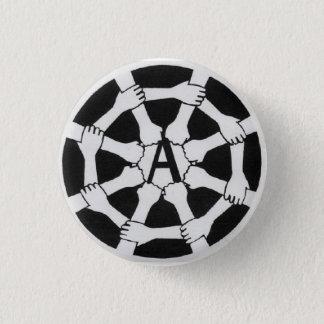 web a logo pinback button