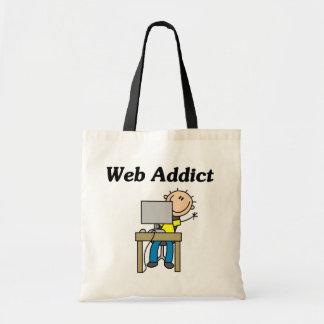 Web Addict Budget Tote Bag