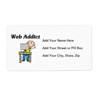 Web Addict Label