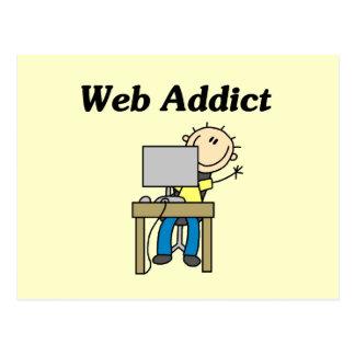 Web Addict Postcard