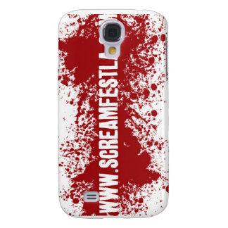 Web Addy de la salpicadura de la sangre Funda Para Galaxy S4