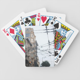 Web Bicycle Playing Cards