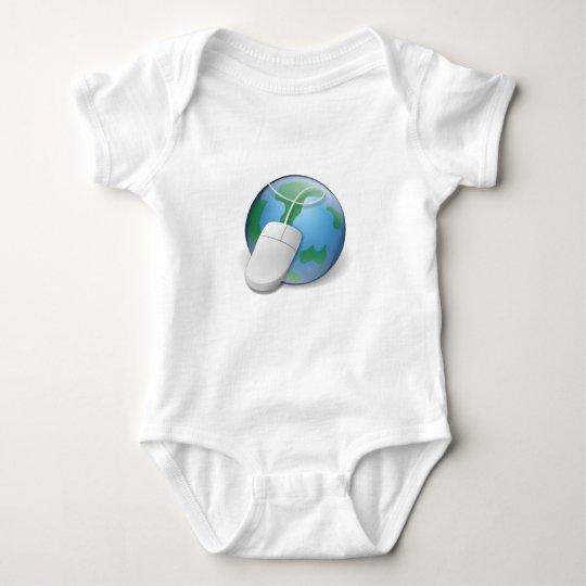 Web Browser Baby Bodysuit