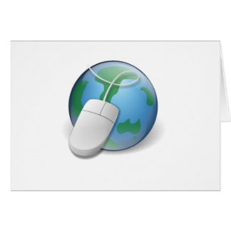 Web browser tarjeta de felicitación