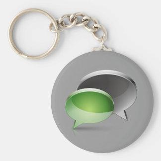 Web-chat Key Chains