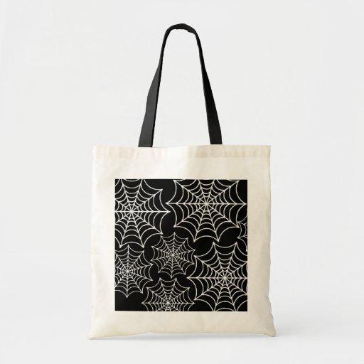 Web de araña adaptables bolsa tela barata