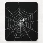 Web de araña alfombrilla de ratón