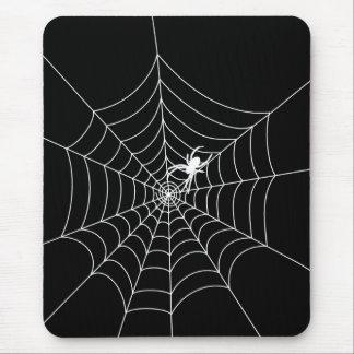 Web de araña alfombrillas de ratón