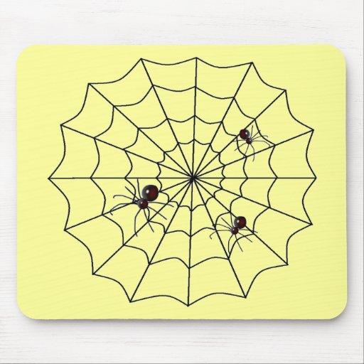 Web de araña alfombrillas de raton
