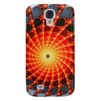 Web de araña anaranjado del fractal