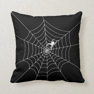 Web de araña cojín