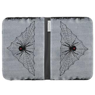 Web de araña de la viuda negra Halloween gótico