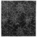 Web de araña espeluznantes servilleta de papel