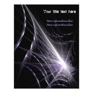 """Web de araña folleto 8.5"""" x 11"""""""
