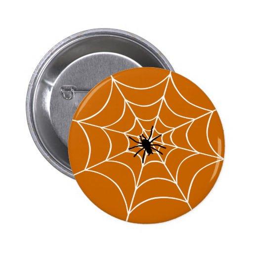 Web de araña pins