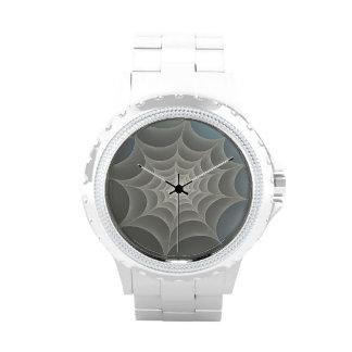 Web de araña reloj