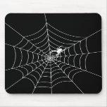 Web de araña tapete de ratón