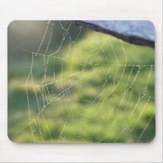 Web de araña alfombrilla de ratones