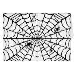Web de araña tarjetón