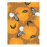 Web de Casper y de araña Postales