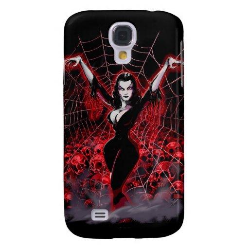 Web de la señora de la araña de Vampira