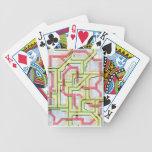 Web de la tecnología baraja de cartas