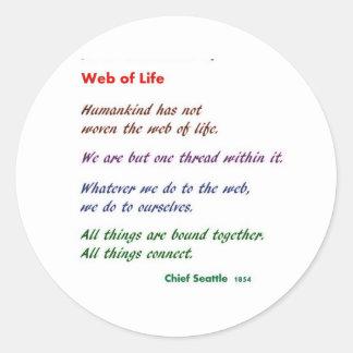 Web de la vida: Sabiduría del nativo americano