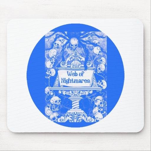 Web de pesadillas mouse pad