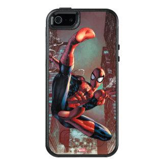 Web de Spider-Man que lanza con una honda en el Funda Otterbox Para iPhone 5/5s/SE