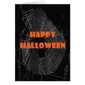 Web del feliz Halloween Tarjeta De Felicitación